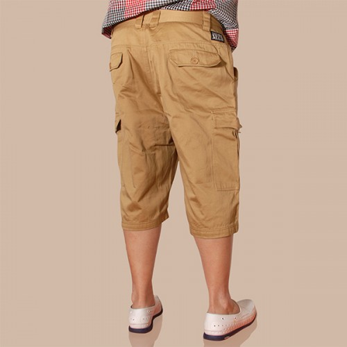 Sleek Cargo Shorts - Golden Sand