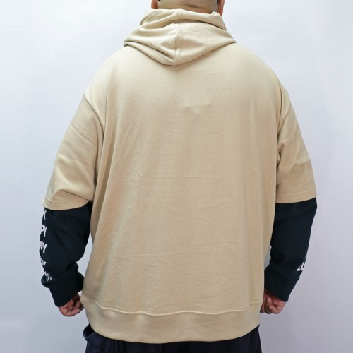 Fake Lucpy Yard Pullover Hoodie - Beige