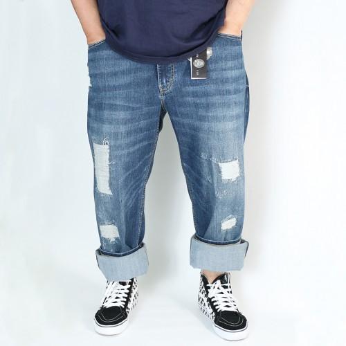 Premium Savage Jeans - Destroyed Wash