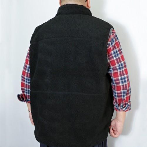 Bore Fleece Pocket Vest - Black