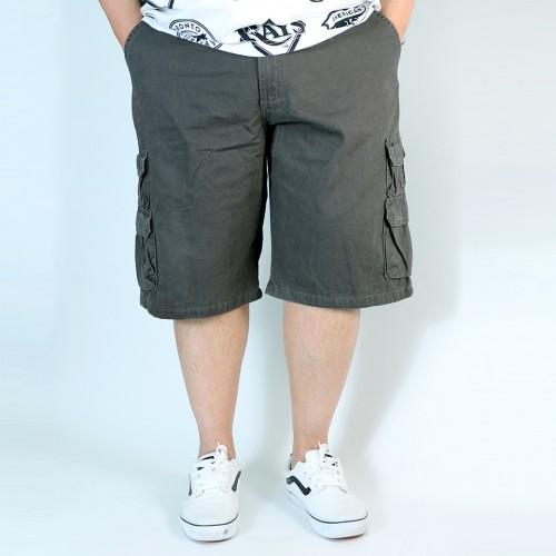 Premium Cargo Shorts - Charcoal