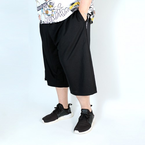 An Avid Expression Shorts - Black