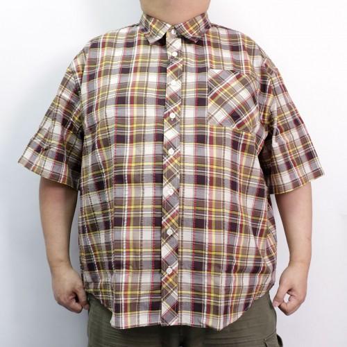Checker Shirt - Brown