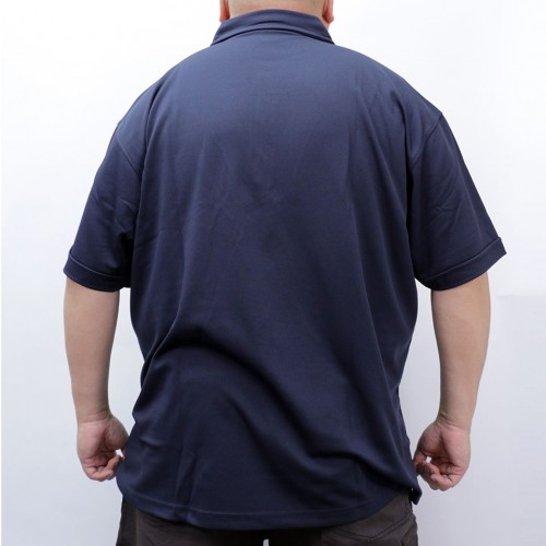 Fast Dry And Cool Polo Shirt - Navy