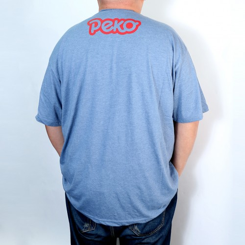 Big Peko Tee - Blue