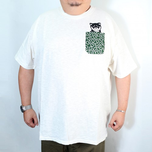 Slab Tengu Pocket Tee - White