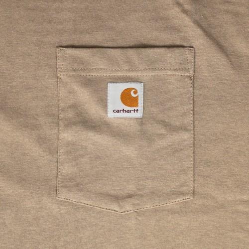 Simple S/S Pocket Tee - Desert