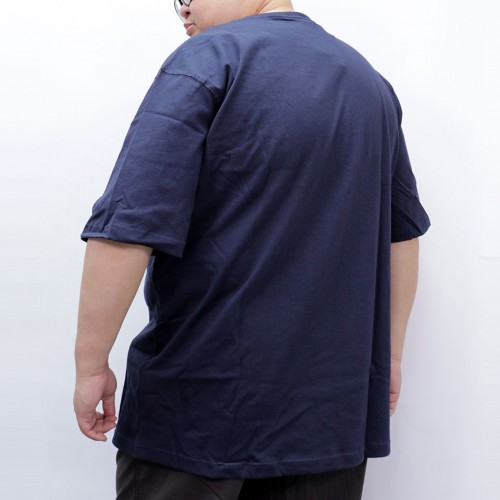 Simple S/S Pocket Tee - Navy