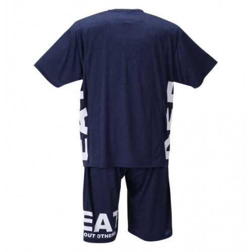 Cationic Switching Tee Set - Navy